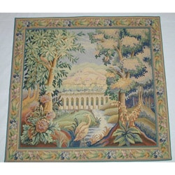 The Bridge European Tapestry Wall Hanging
