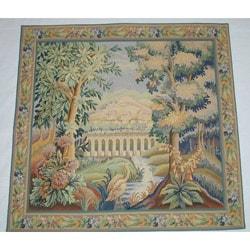 The Bridge European Tapestry Wall Hanging