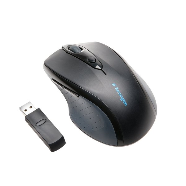 Kensington Pro Fit 72370 Mouse - Optical - Wireless - Radio Frequency