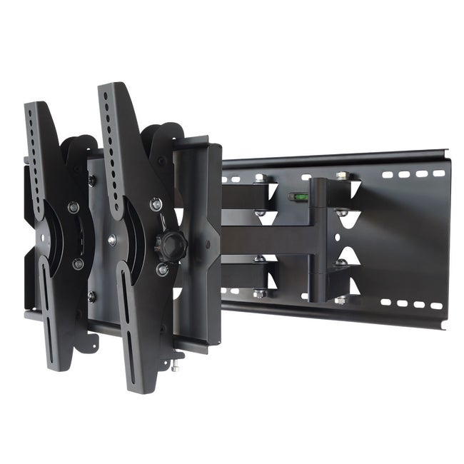 mount it heavy duty articulating 23 to 37 inch tv wall mount 13604709. Black Bedroom Furniture Sets. Home Design Ideas