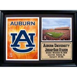 Auburn University and Jordan-Hare Stadium Framed Photo