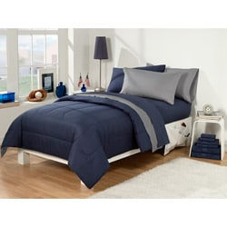Dorm Room Superset Navy/Grey 30-piece Twin Extra Long