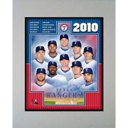 Encore Select 2010 Texas Rangers Framed Photograph