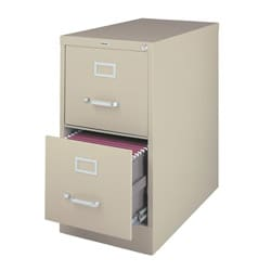 Hirsh 2-drawer Letter-size Commercial Vertical File Cabinet