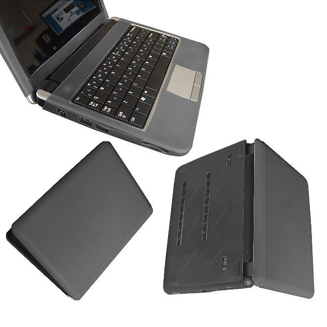 SKQUE Black Dell Inspiron Mini 9 Laptop Silicone Skin Case