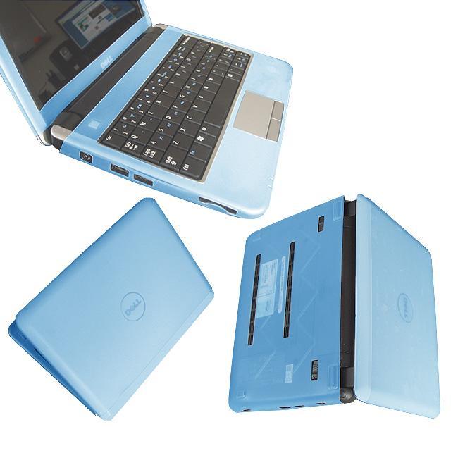 Blue Dell Inspiron Mini 9 Laptop Silicone Skin Case