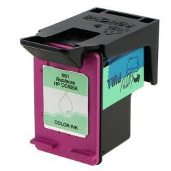 HP901/ CC656AN Color Ink Cartridge (Remanufactured)