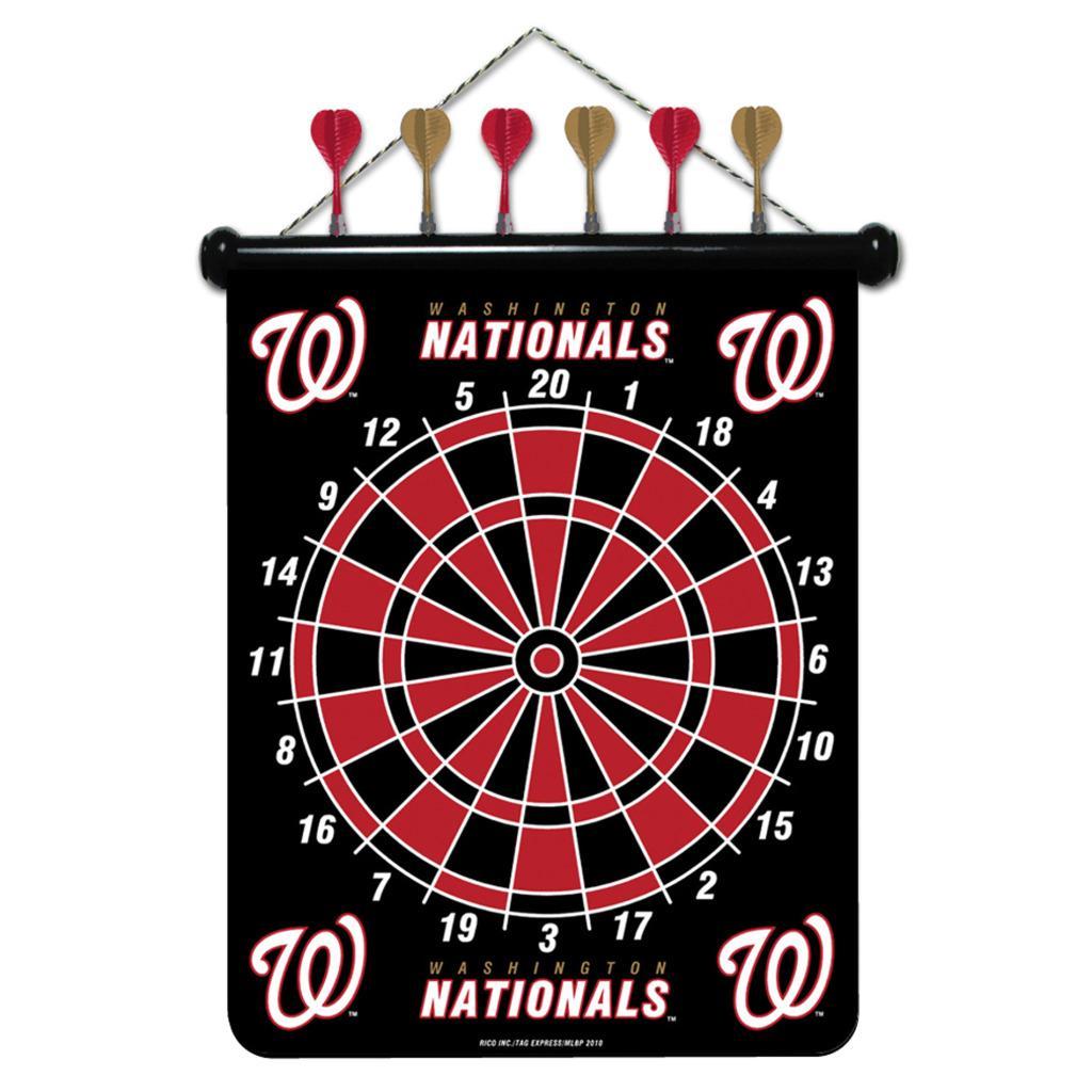 Washington Nationals Magnetic Dart Board