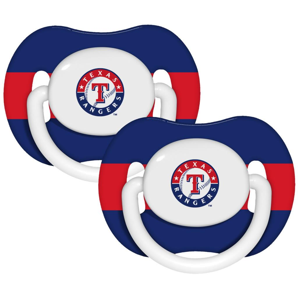 Texas Rangers Pacifiers (Pack of 2)
