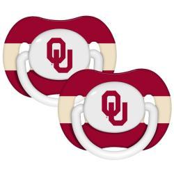 Oklahoma Sooners Pacifiers (Pack of 2)
