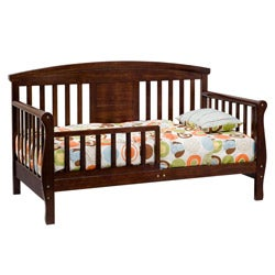 DaVinci Elizabeth II Convertible Toddler Bed in Espresso