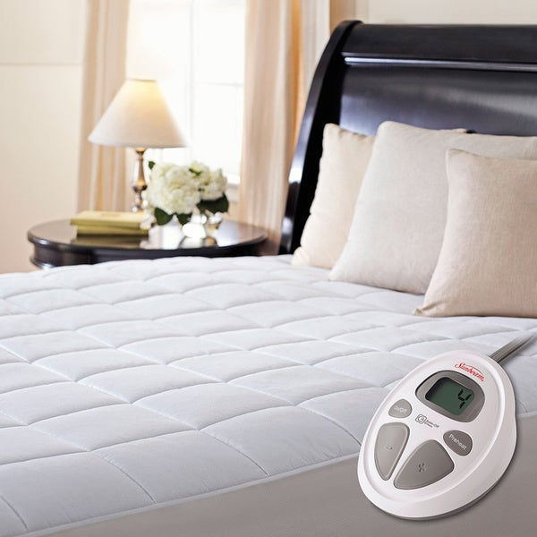 Sunbeam Premium Electric Heated King Size Mattress Pad