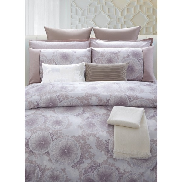 Purple Reef Cotton 7-piece Duvet Cover Set