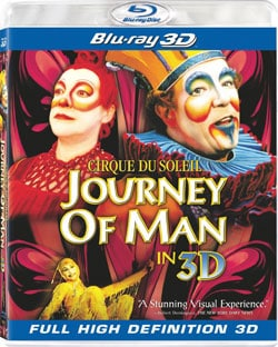 Cirque Du Soleil: Journey of Man (3D) (Blu-ray Disc)
