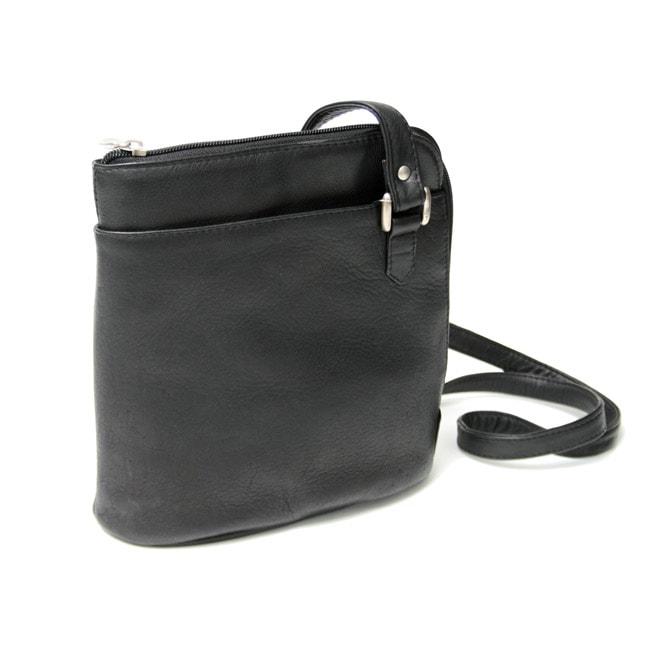 Royce Leather Vaquetta L-zip Shoulder Bag