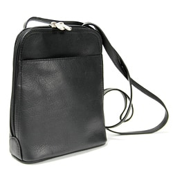 Royce Leather Vaquetta Zip Around Mini Bag