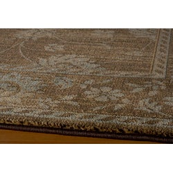 Preston Brown Kashan Rug (7'10 x 9'10)
