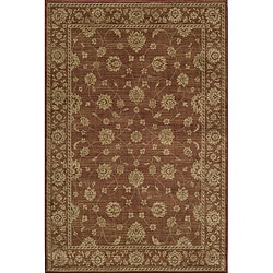 Preston Kashan Red Rug (5'3 x 7'6)