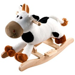 Happy Trails Rocking Connie Cow Battery-powered Plush Kids' Toy