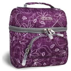 J World 'Corey' Purple Love Letter Lunch Tote
