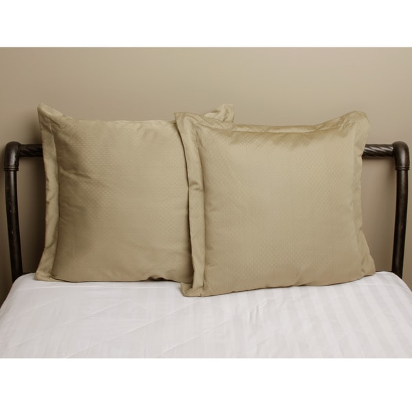 Sienna Matelasse Euro Pillow Set of 2