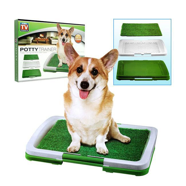 As Seen On TV Puppy Potty Trainer Indoor Grass Training Patch