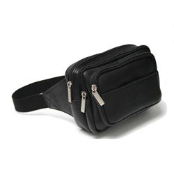 Royce Leather Vaquetta Multi-pocket Fanny Pack