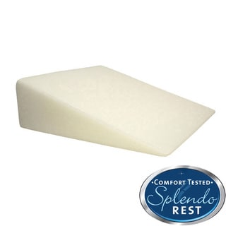 SplendoRest Visco Elastic Foam Firm Support Bed Wedge Pillow