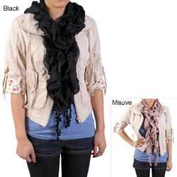 Journee Collection Women's Ruched Detail Scarf