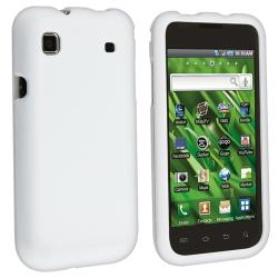 White Rubber Coated Case for Samsung T959 Vibrant