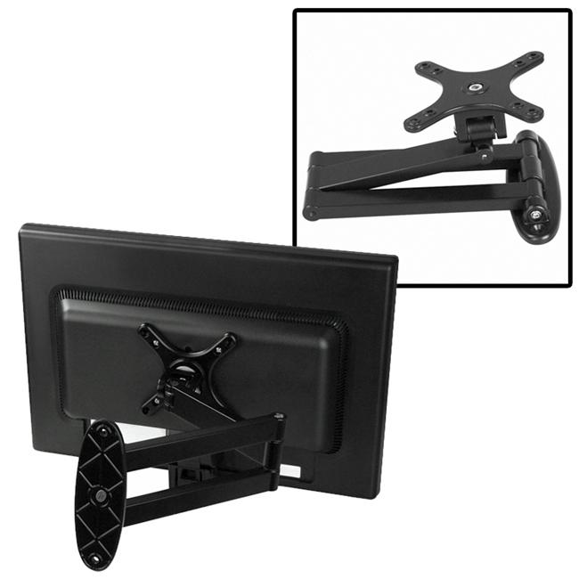 Black Wall Mount Bracket for Flat Panel TVs