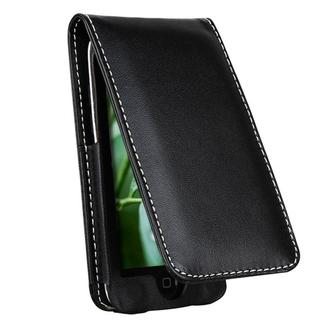 Leather Case with Lanyard and Kick Stand for Apple iPod touch 4th Gen