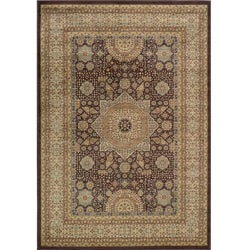 Preston Brown Tabriz Rug (5'3 x 7'6)