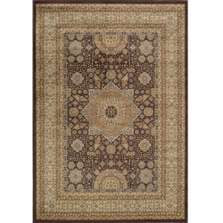 Preston Brown Tabriz Rug (7'10 x 9'10)