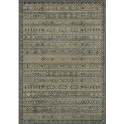 Preston Blue Gabbeh Rug (5'3 x 7'6)