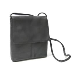 Royce Leather Vaquetta Small Flap-over Cross-body Bag