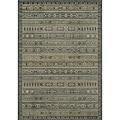 Preston Blue Gabbeh Rug (9'3 x 12'6)