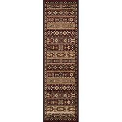 Preston Red Gabbeh Rug (2'3 x 7'6)