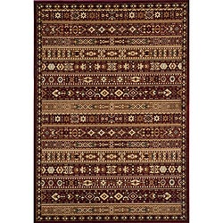 Preston Red Gabbeh Rug (3'11 x 5'7)