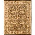 Safavieh Handmade Heritage Green/ Beige Wool Rug (8'3 x 11')