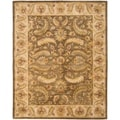 Handmade Heritage Green/ Beige Wool Rug (8&#39;3 x 11&#39;)