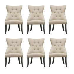 Daphne Beige Modern Dining Chairs (Set of 6)