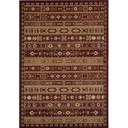 Preston Red Gabbeh Rug (7'10 x 9'10)