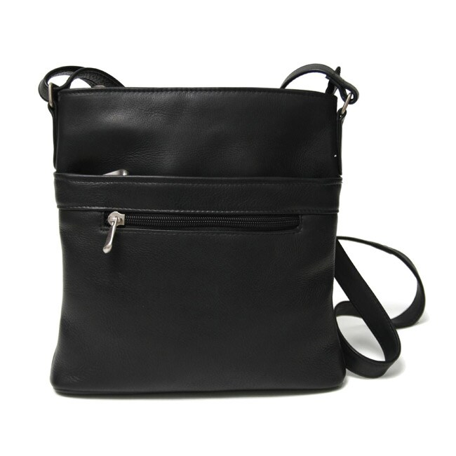 Royce Leather Vaquetta Triple-zip Cross-body Bag