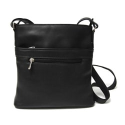 Royce Leather Vaquetta Triple-zip Cross-body Bag