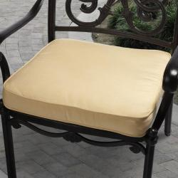 Clara 19-inch Outdoor Yellow Cushion Made with Sunbrella