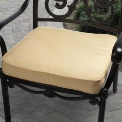 Clara 20-inch Indoor/ Outdoor Yellow Cushion with Sunbrella