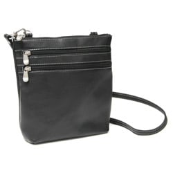 Royce Leather Vaquetta Zip-around Cross-body Bag