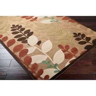 "Woven Terrance Indoor/Outdoor Floral Rug (2'6"" x 7'10')"
