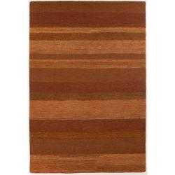 Hand-Tufted Mandara New Zealand Wool Area Rug (4' x 6')